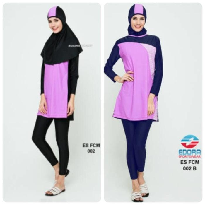 Baju Renang Wanita Edora Muslimah ES FCM [size XXL]