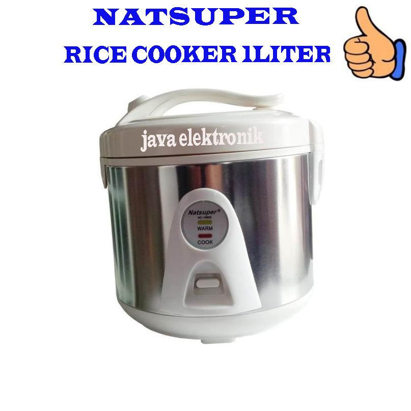 Rice Cooker Mini Natsuper 1Ltr - Magic Com Kecil - Magiccom Mini 1L