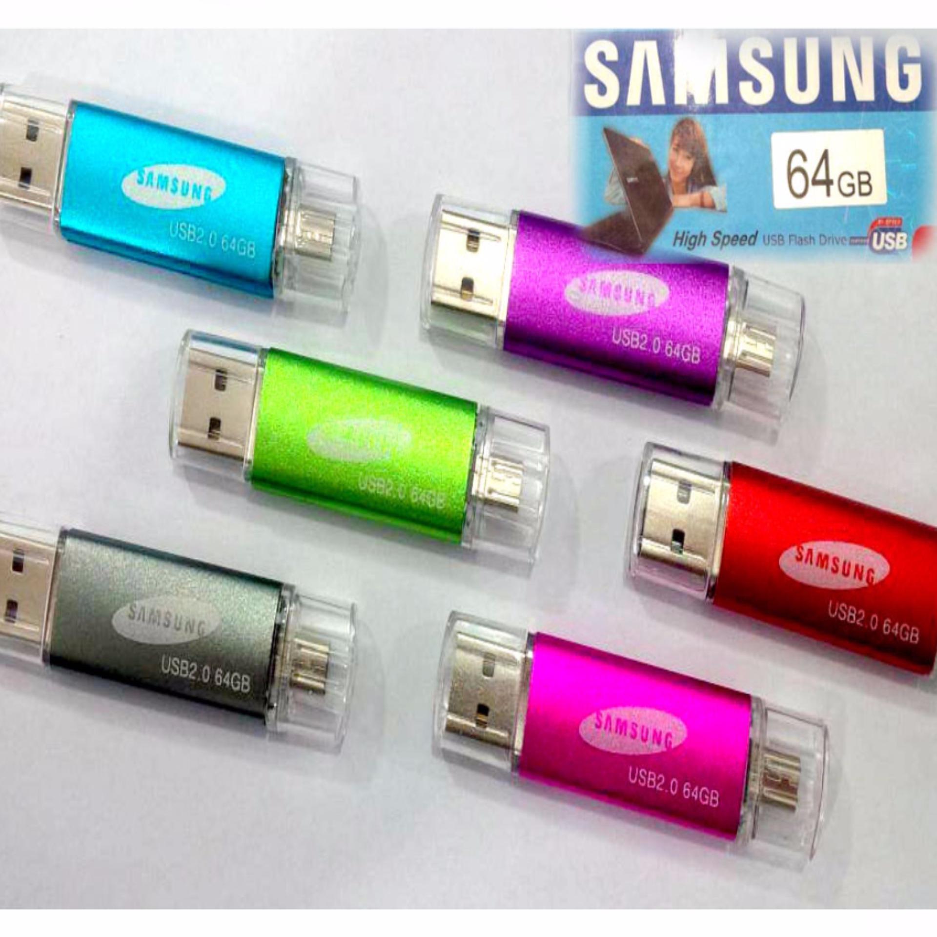 Harga Flashdisk Otg Usb Samsung 64 Gb Random Satu Set