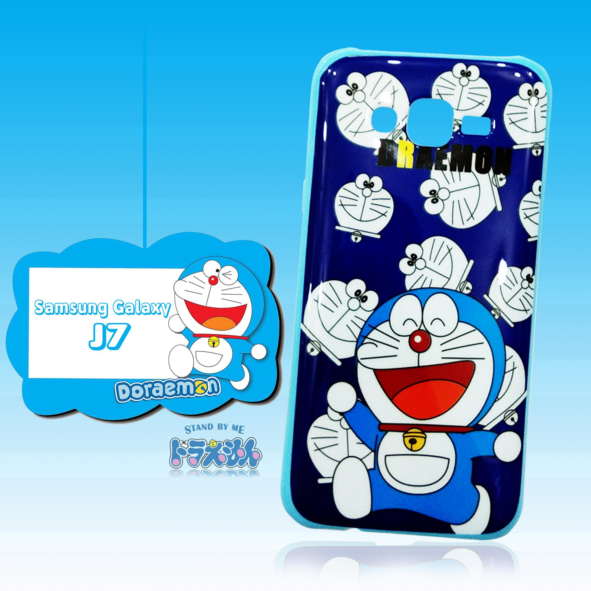 Marintri Case Samsung Galaxy J7 - New Doraemon Happy Everyday