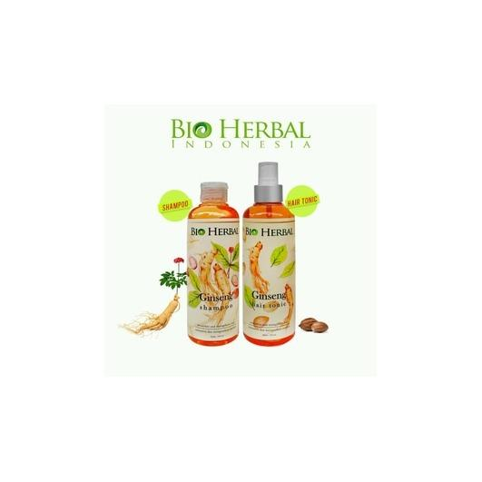 PALING LARIS DI PASARAN !! Bio Herbal - Hair Tonic Ginseng BPOM - Ginseng Hair Tonic