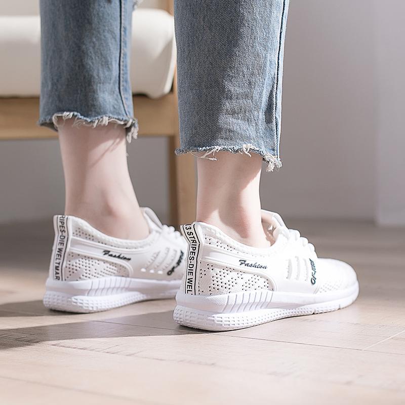 4 Zuucee Fashion Wanita Jaring Musim Panas Sepatu Kasual Sneakers?free Shipping? - 5