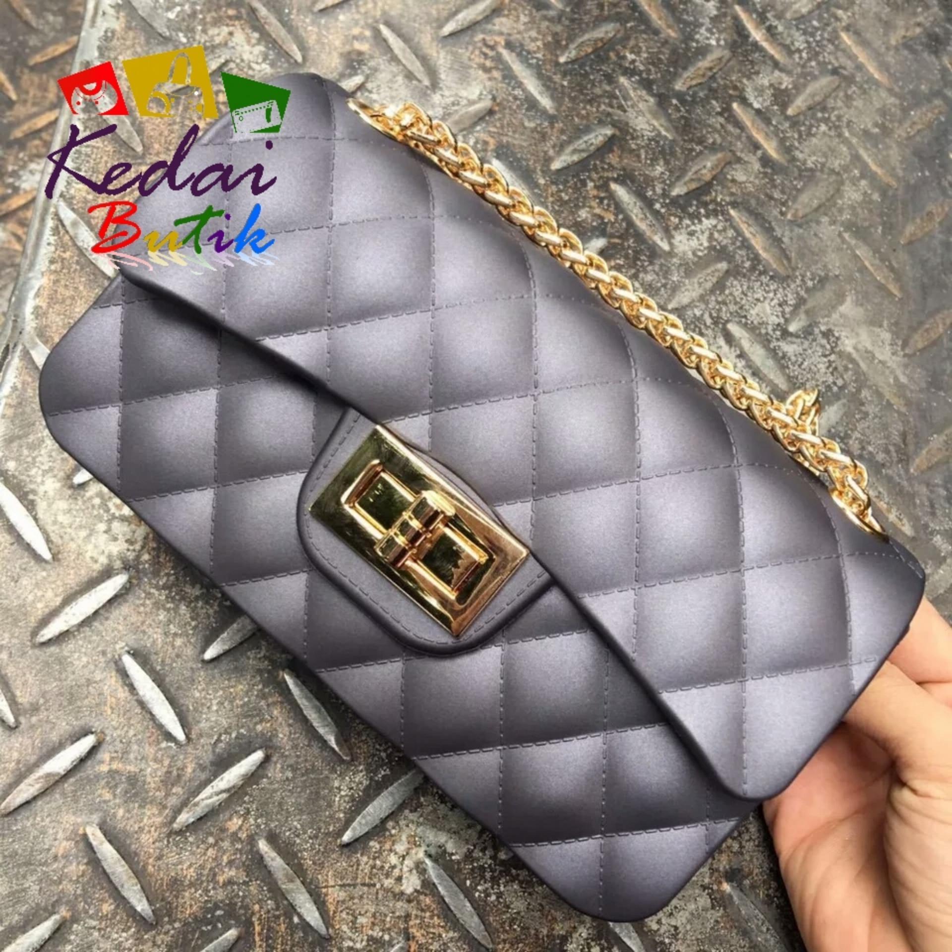 Review Kedaibutik 002 Besar Tas Jelly Matte Maxi Chanel Import Anak Murah