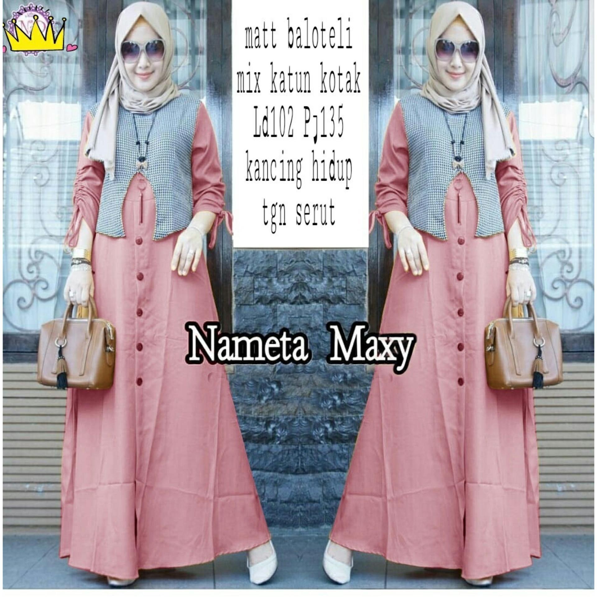 Features Amorshop Gamis Maxy Lira Pakaian Muslim Wanita Long Dress