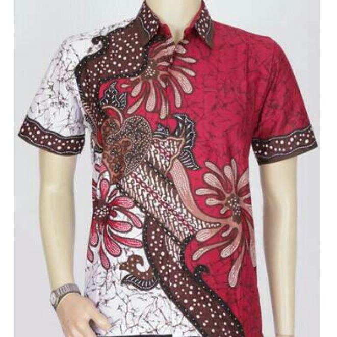 Cek Harga Baru Baju Batik Kantor Batik Atasan Kerja Kemeja Batik