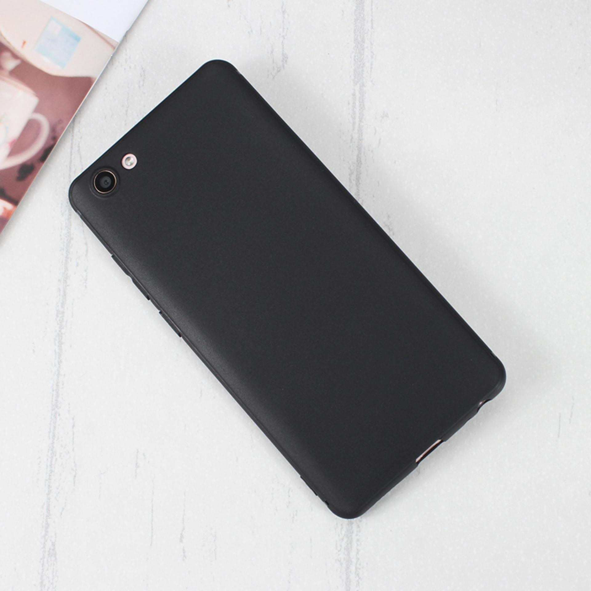 Case Slim Black Matte Vivo Y71 Baby Skin Softcase Ultra Thin Jelly Silikon Babyskin + Free ...