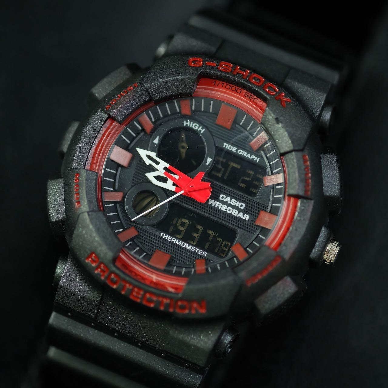 Jam Tangan Gshock G - Shock Raptors - Limited Edition Elegant Series-Pria Wanita Formal Kasual Terbaru-Women or Men Luxury Watch-Rubber Strap-Kulit Kanvas Army Kekinian Sporty Fashionable Bonus Zippo Premium Beam Korek Free Trend 2018