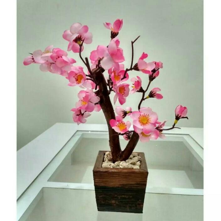 BUnga Meja Bunga Artificial Bonsai Sakura Mini  Bunga hias Sakura Plastik  murah 5908270167
