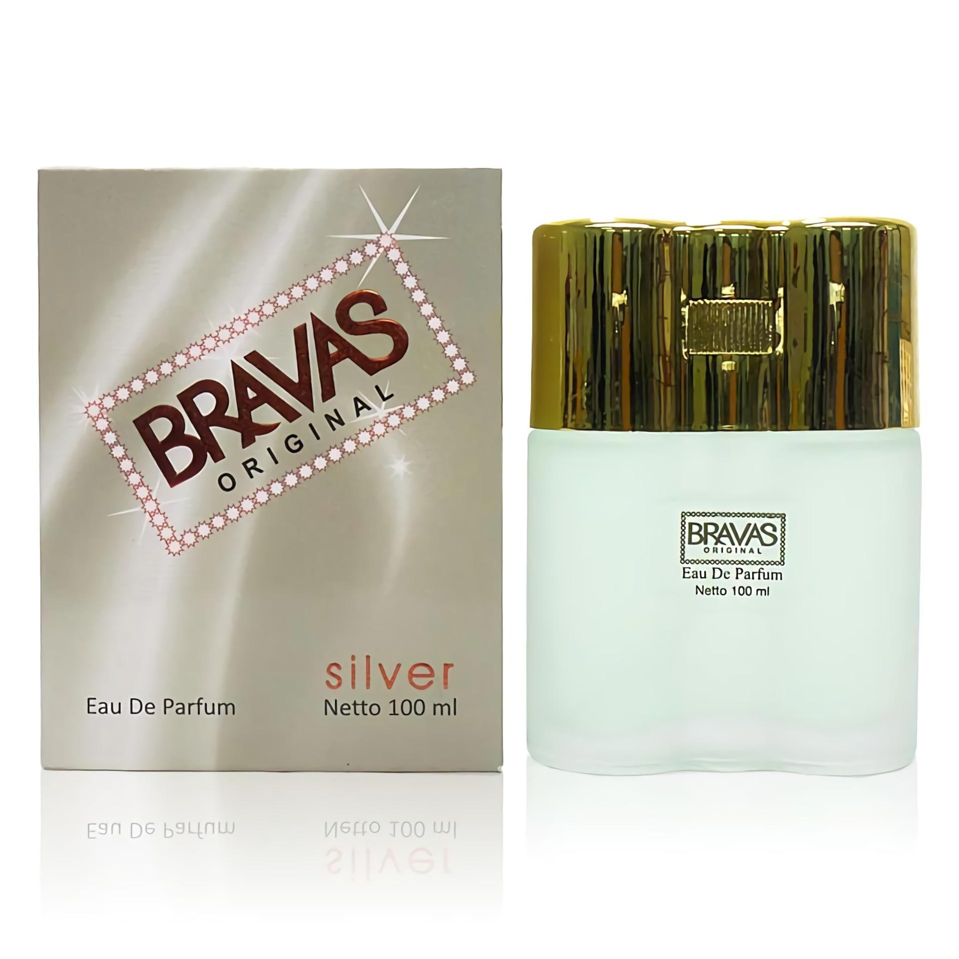 BRAVAS Eau De Parfum XX-CT ORIGINAL 100 ML Perfume Fragrance Pewangi