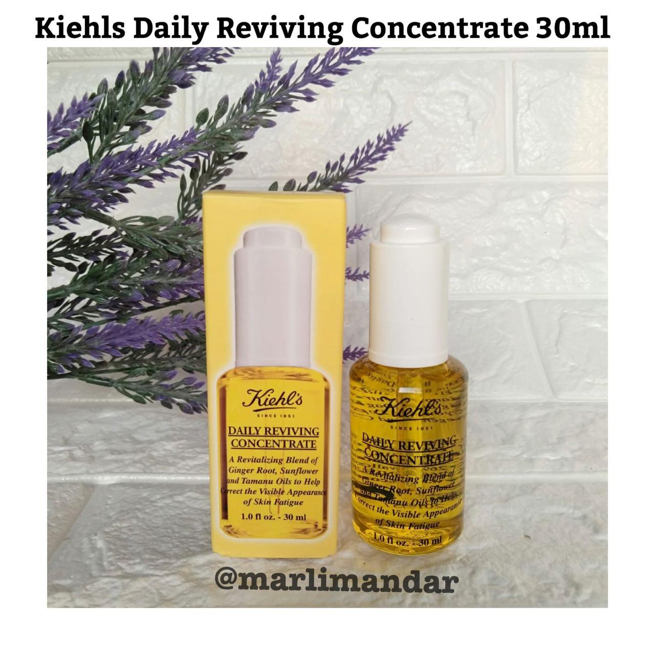 Kelebihan Kiehls Clearly Corrective Dark Spot Solutions 30ml Ccds Skin Brightening Exfoliator 25ml Daily Reviving Concentrate Drc