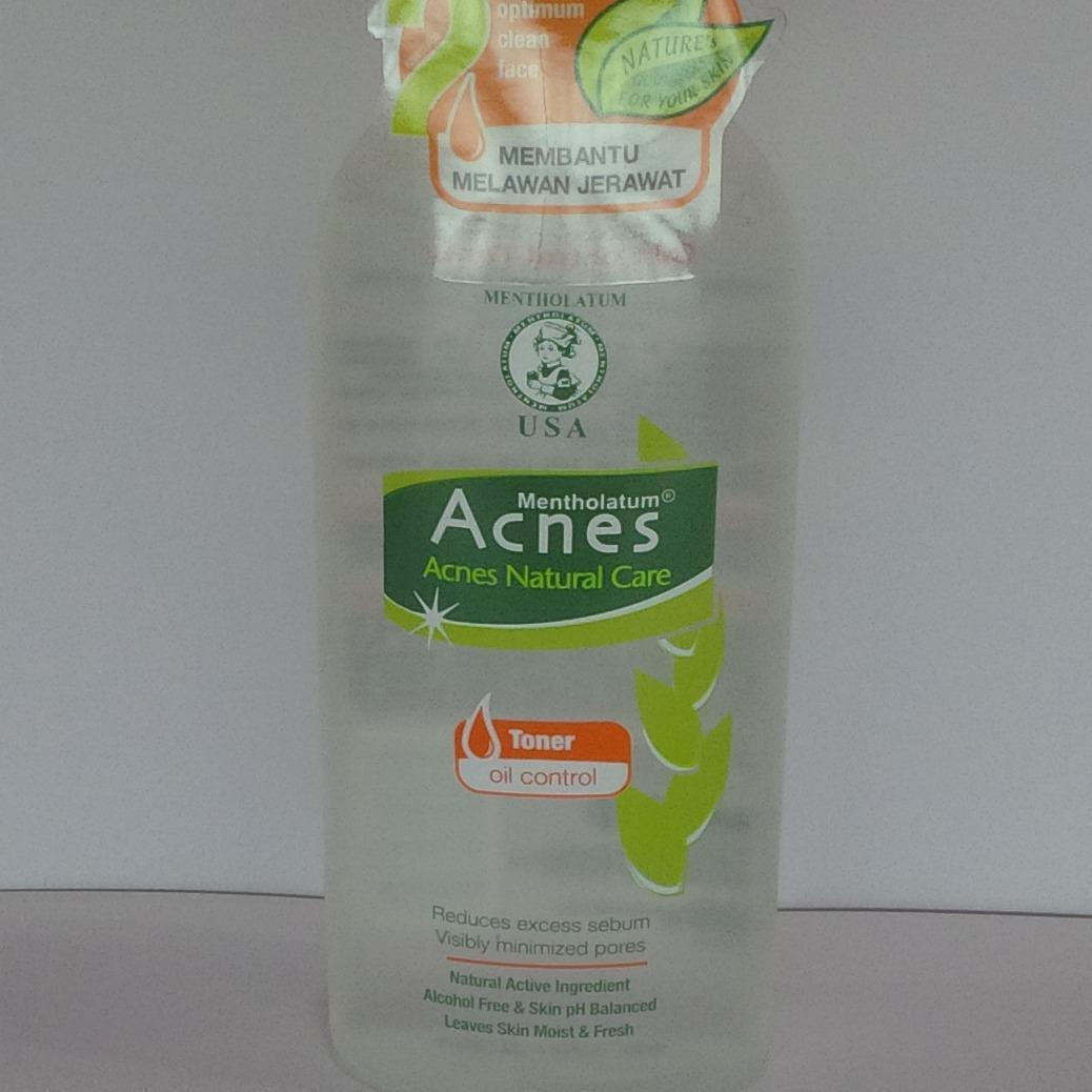 Fitur Acnes Natural Care Face Wash Oil Control 50gr Dan Harga Yogurt Toner
