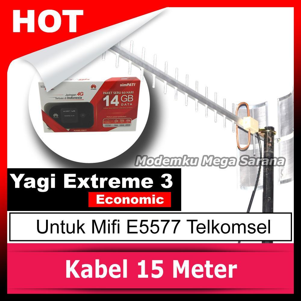 Antena Yagi Antena Mifi Huawei E5577 Telkomsel Extreme 3 Eco