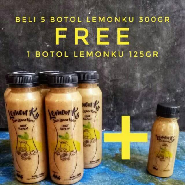 JUS DIET HERBAL LEMONKU Variasi 1-4