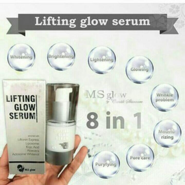 Serum ms glow by cantik skincare original bpom