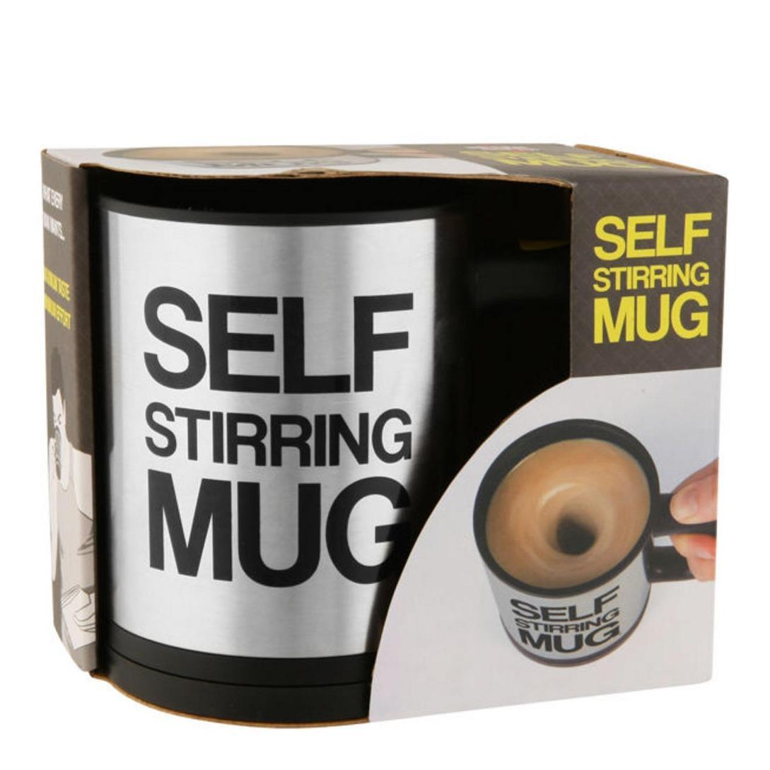 Jual Garansi 100 Uang Kembali Self Stirring Mug Gelas Pengaduk Minuman Otomatis Branded