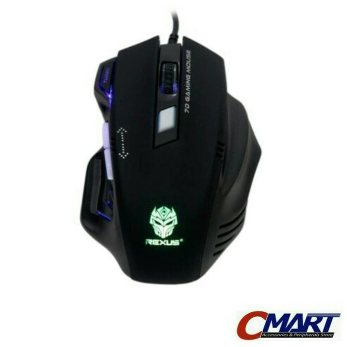 Rexus RXM-G7 Elite 2400dpi Laser Sensor Gaming Mouse Gamers Game Gamer Mous
