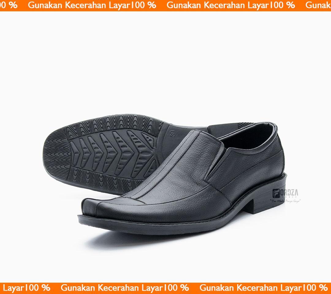 Fitur Sepatu Pria Pantofel Formal Sepatu Kerja Kulit Asli ... fa81f8590a