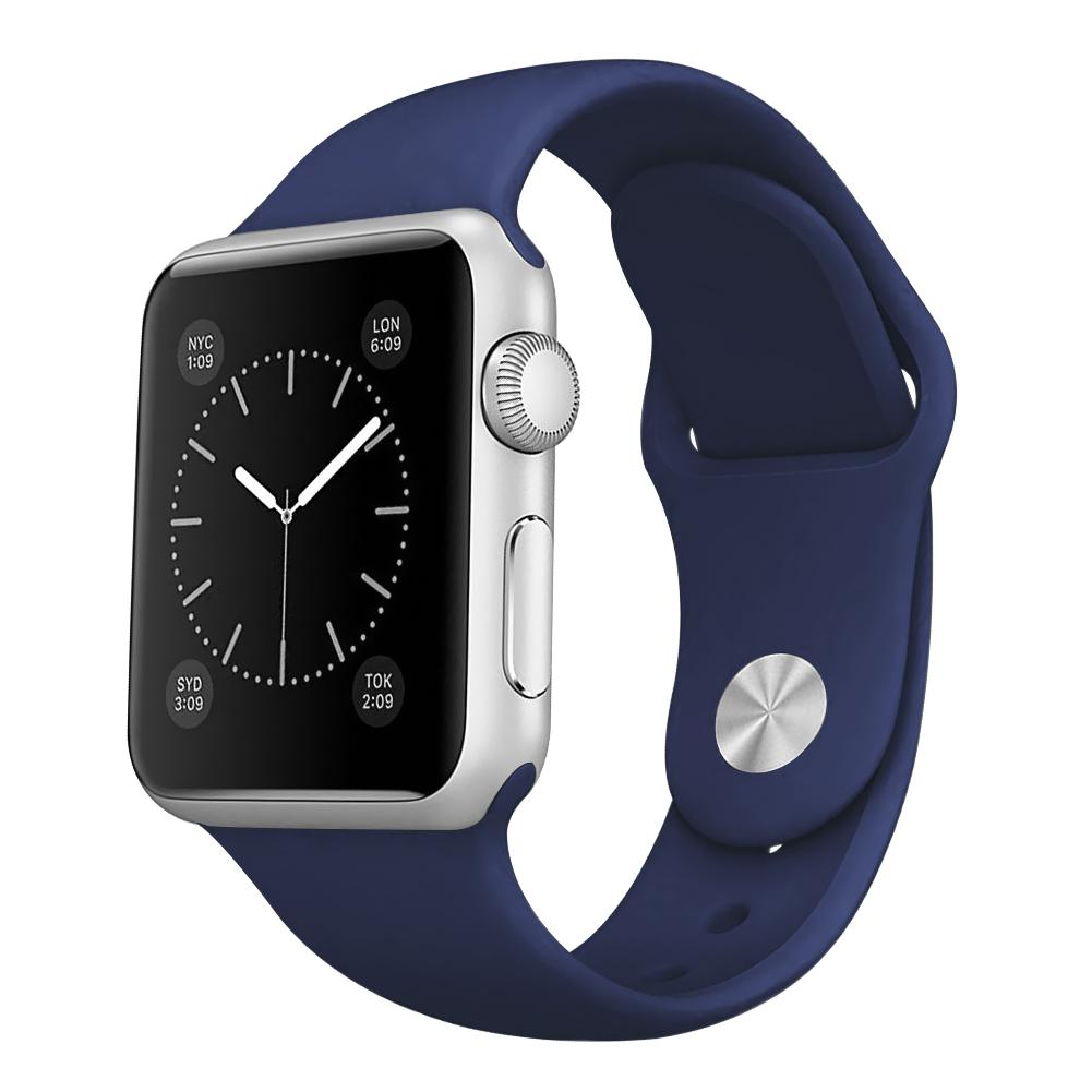 Tali Jam iwatch Apple Watch Sport Silicone Rubber 38mm - Navy