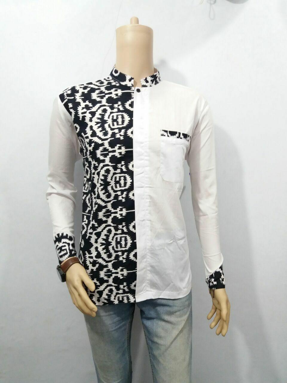 Batik Solo 4250 Kemeja Pria Motif Songket Merah Daftar Harga Produk Ukm Bumn Atasan Tenun Lengan Pendek Marun Koko Modern