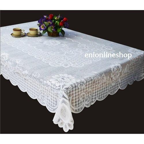 Taplak Meja Makan Tamu Persegi Panjang Tablecloth 100X150 Cm 1151 Tanpa Merk Diskon 30