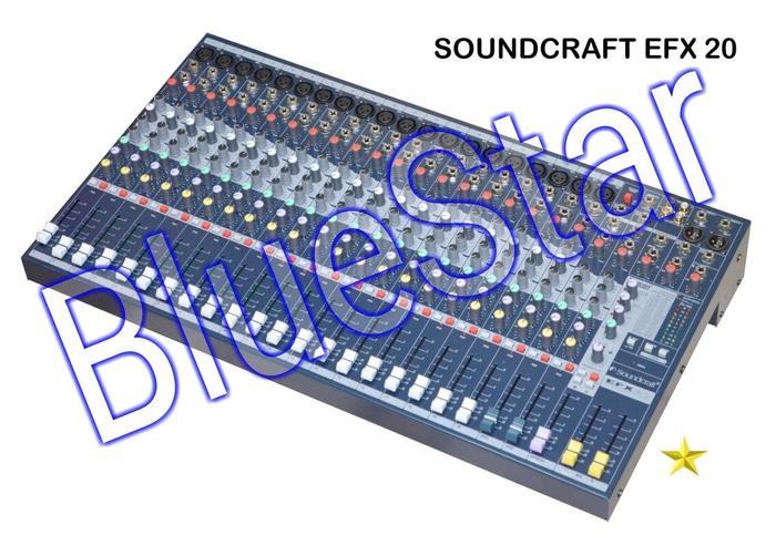ORIGINALS  Mixer SoundCraft EFX 20 (20 Channel)