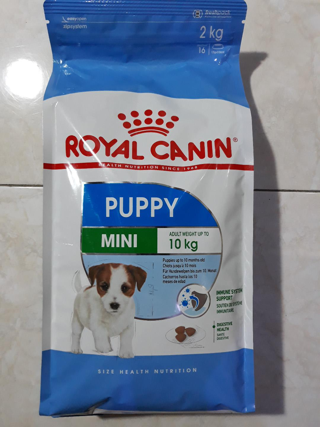 Dog Food Royal Canin Puppy Mini Junior 2 KG 2kg