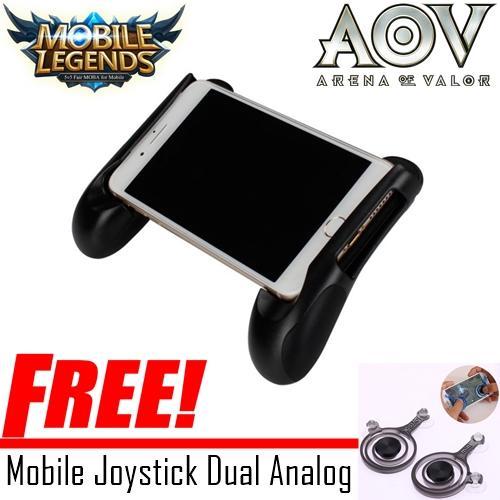 Gamepad Joypod Mobapad Smartphone For Android Dan IOS Game Bracket 4.5 - 6.5inch - Rondom