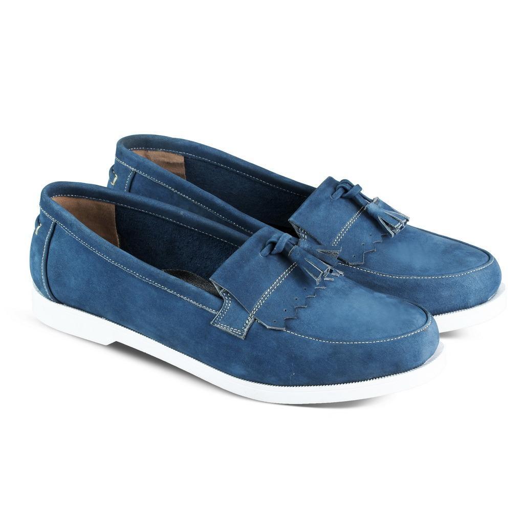 JK Collection Sepatu Casual Wanita - Biru