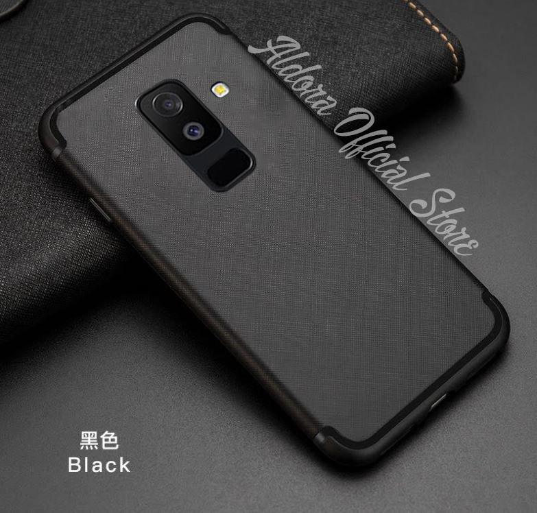 Aldora Case For Samsung Galaxy A6+ 2018 / Samsung galaxy A6 Plus 2018 SoftCase UltraSlim Cross