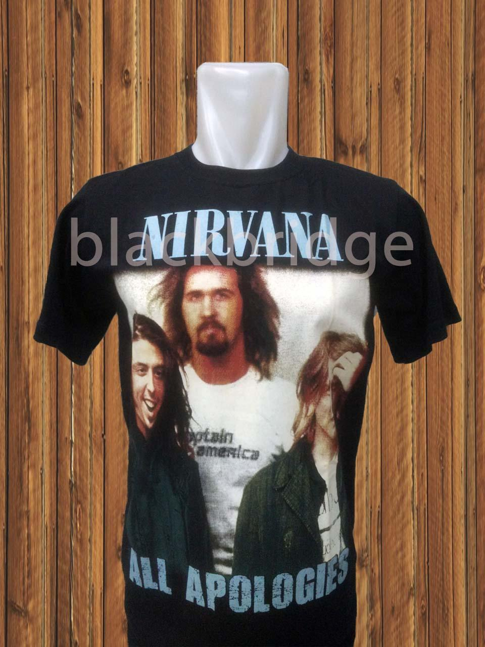 Kaos Pendek / Oblong Rock / Metal / Punk Murah  PRAPATAN REBEL (Size M) - NIRVANA