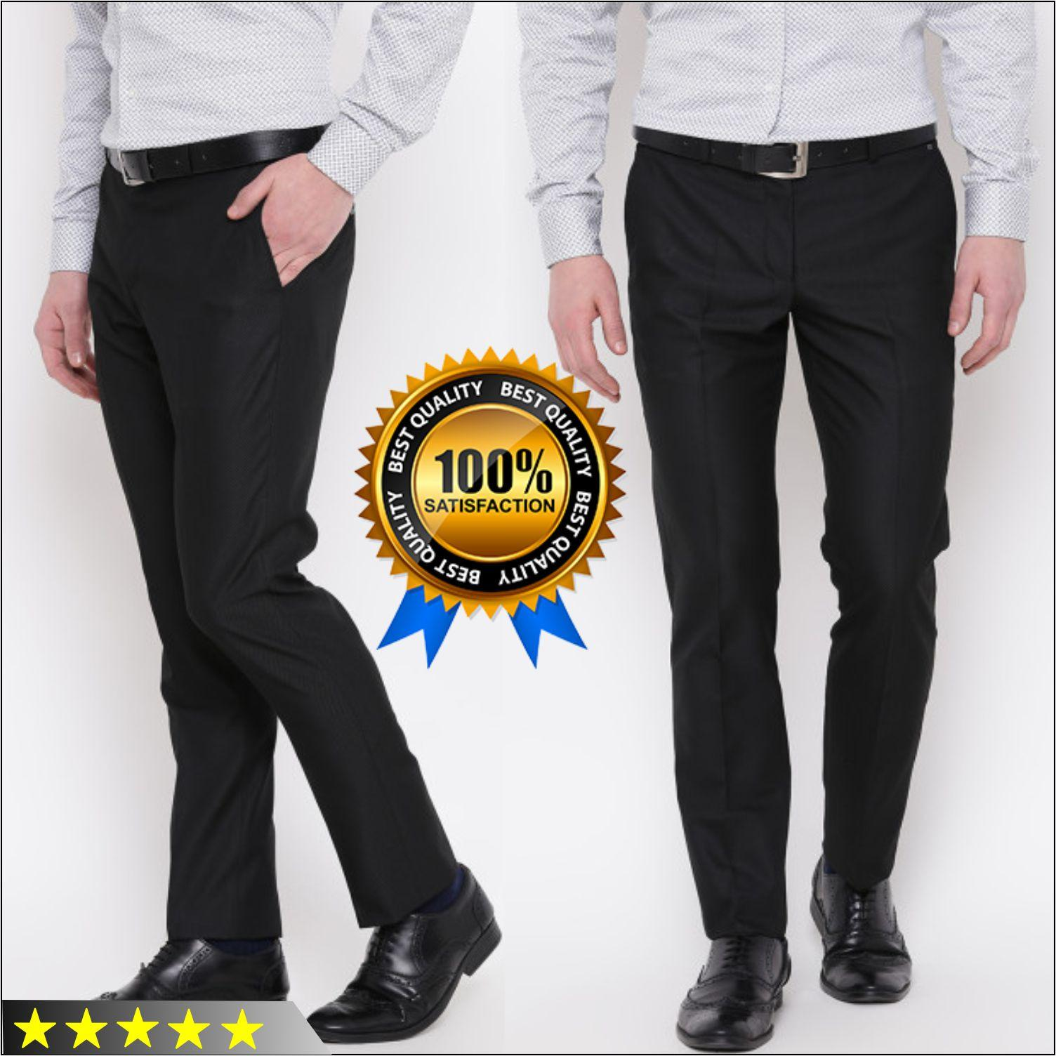 Celana Panjang Slim Fit Bahan Pria Kantoran Celana Formal Masa Kini Murah
