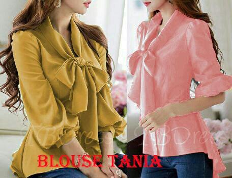 RICARDOF - Blouse Tania / Blouse Wanita / Fashion Terkini / Atasan Wanita / Baju Kerja