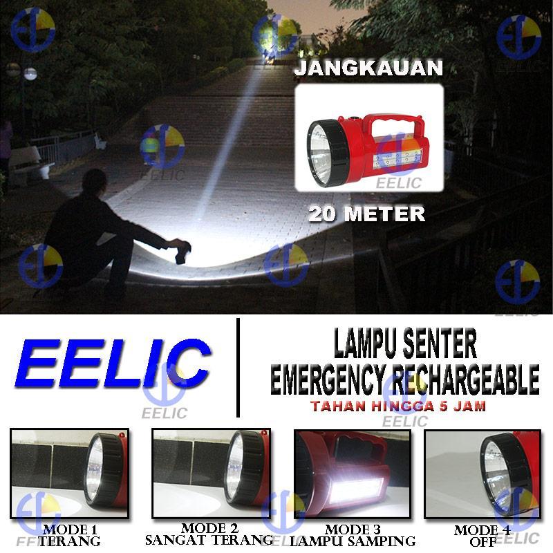 ... EELIC LAS-LP208 1 PCS LAMPU SENTER 0.5 WATT (DEPAN) + 5 WATT