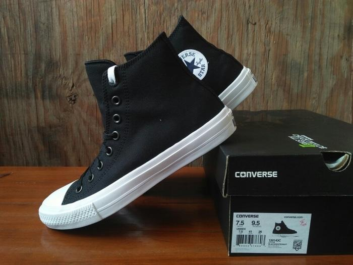 Converse Chuck Taylor II All Star Black White Hi BNIB ORIGINAL - eNU0zn 22f25dad03
