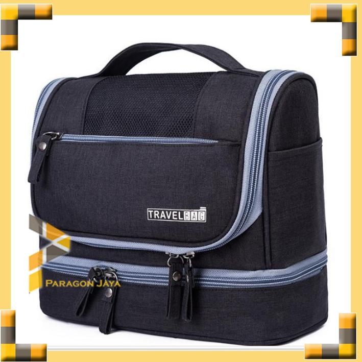 Travel Toiletries Bag (Tas untuk tempat kosmetik & perlengkapan mandi)