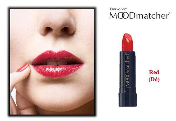 MOODmatcher Red (Lipstick Super Awet Tahan Hingga 12 Jam) - 4