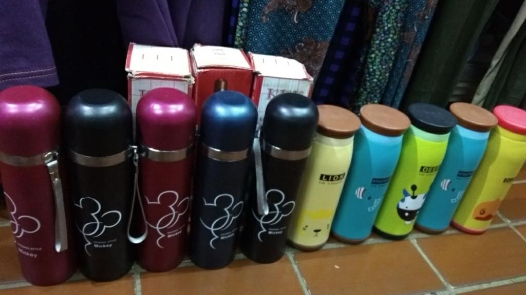 Cendra Botol Minum Termos Karakter Animal Stainless Steel JX04 - 500ml - Multicolor | Lazada Indonesia