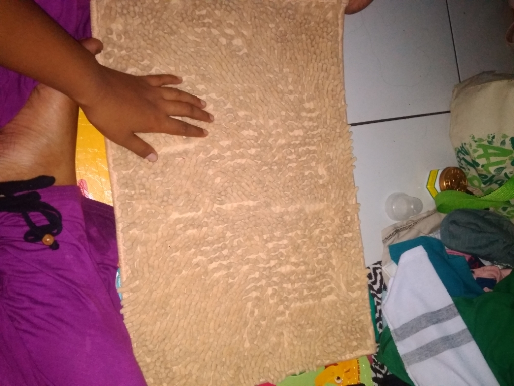 ... Hokki Keset Cendol Microfiber Ukuran 40x60 cm Coklat Susu Lazada Indonesia
