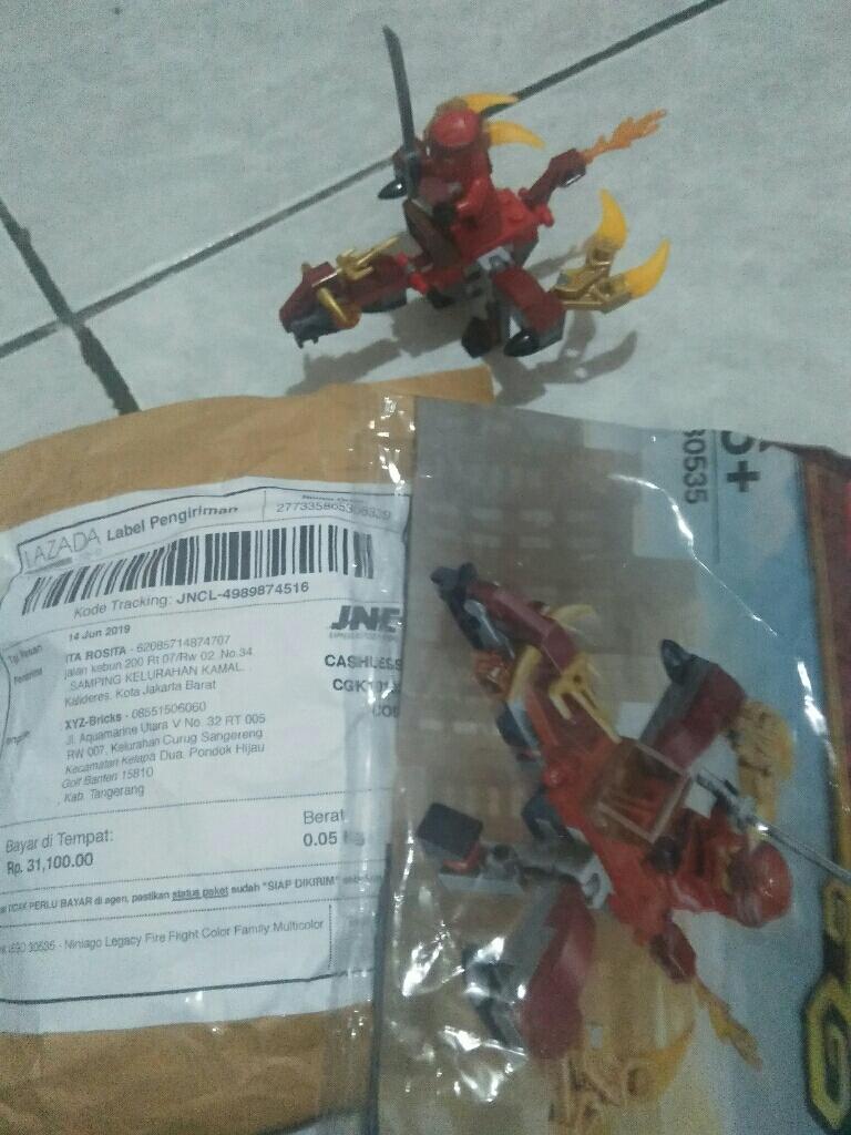 Fire Dragon Polybag Kai 30535 LEGO Ninjago Legacy Minifigure