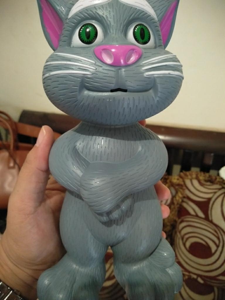 KokaPlay Boneka Intelligent Talking Tom Cat Mainan Anak Laki Laki Perempuan  Edukasi Touch Sensor Sentuh Boneka d12db5429f