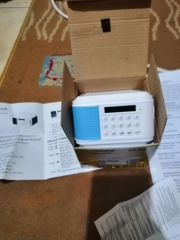 Speaker Portable Murottal Al Quran Alquran 45 Qori Best Seller 16gb | Lazada Indonesia