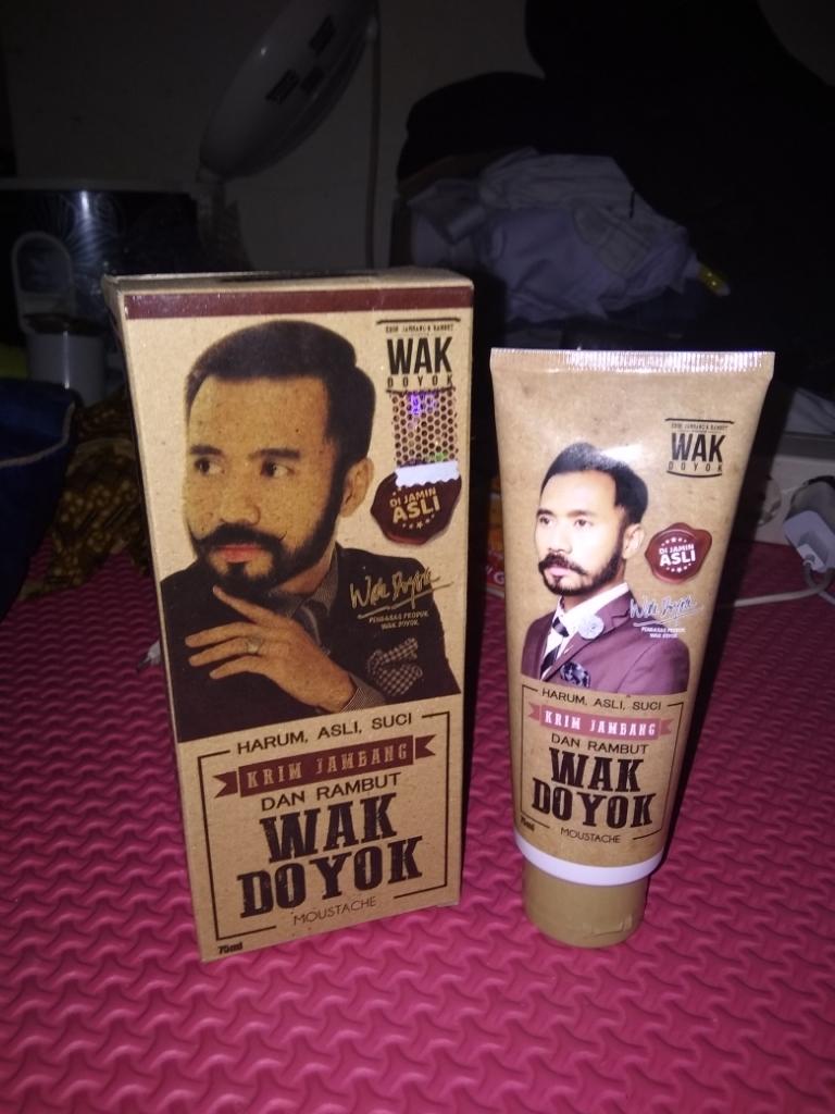 Wak Doyok Cream 75ml Original - Wakdoyok Krim Penumbuh Jambang, Rambut dan Alis | Lazada Indonesia