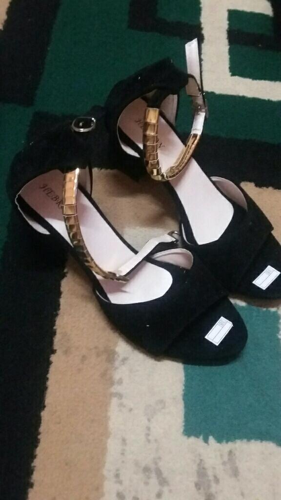 Tstrap heels black: Membeli jualan online Sandal Heel Wanita dengan harga murah | Lazada Indonesia
