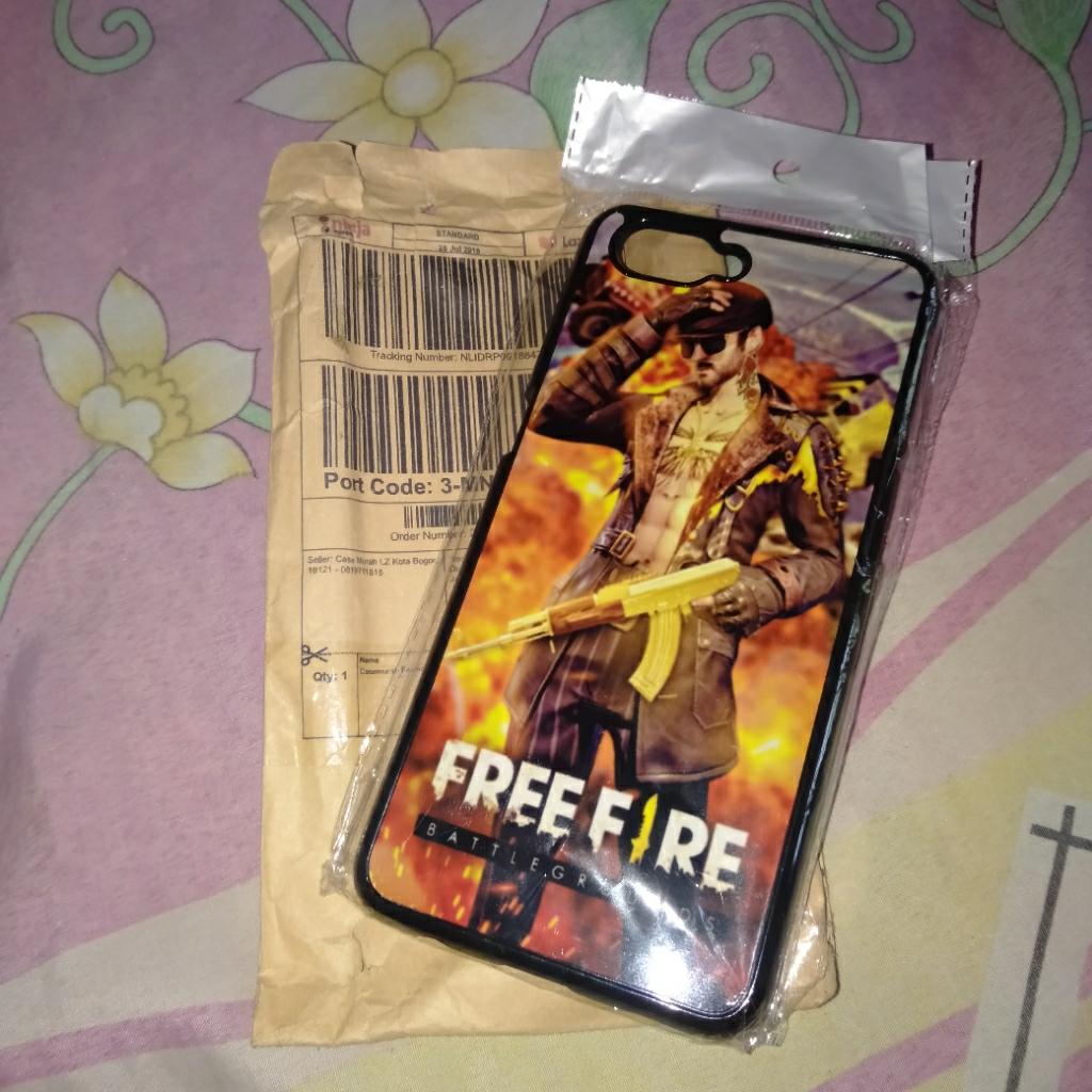 Casemurah Fashion Printing Oppo A3s Free Fire #9