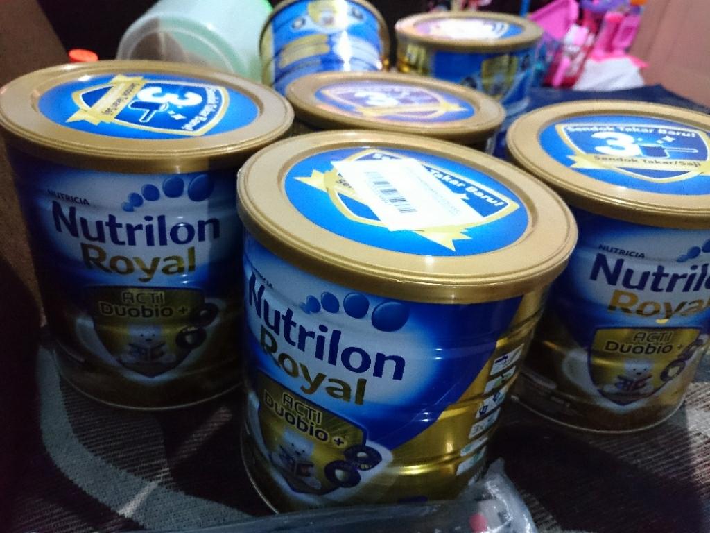 Nutrilon Royal Acti Duobio 3 Vanilla - 800gr Bundle 3 Kaleng | Lazada Indonesia