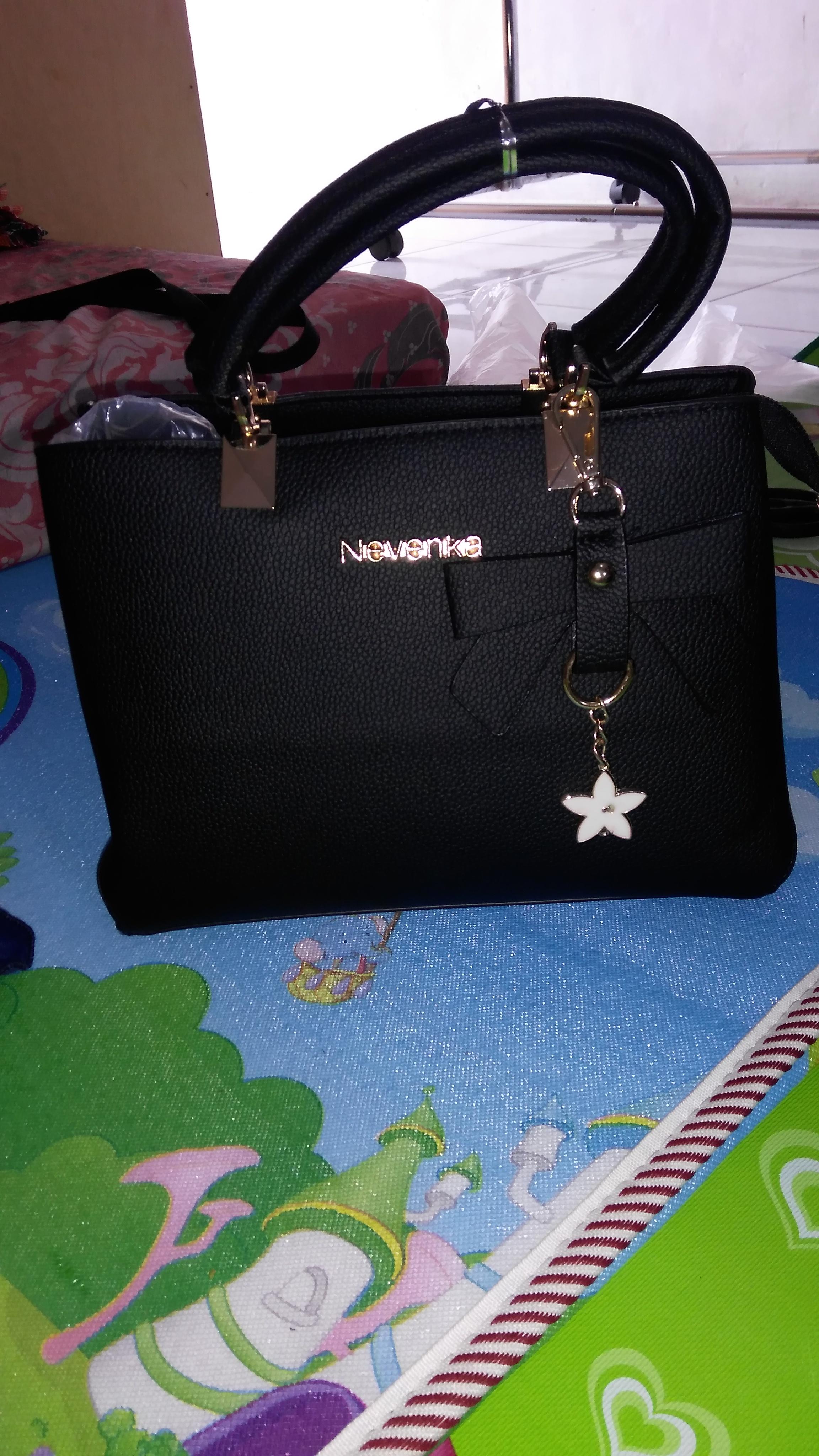 Tas Import Wanita ZGM886-Black: Membeli jualan online Top-handle Bag dengan harga