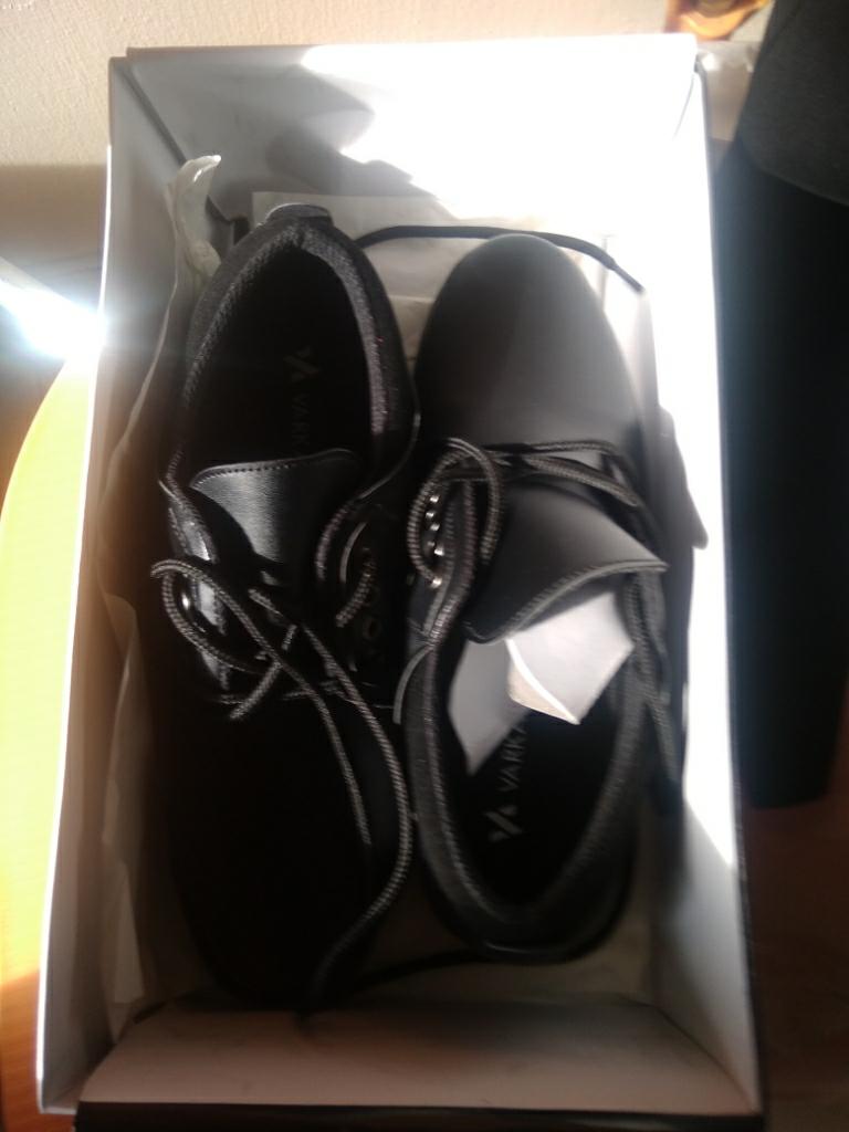 ... Sepatu VD 443 Sepatu Formal Pantofel Pria Untuk Kerja dan Kantor Kulit Sintetis Hitam