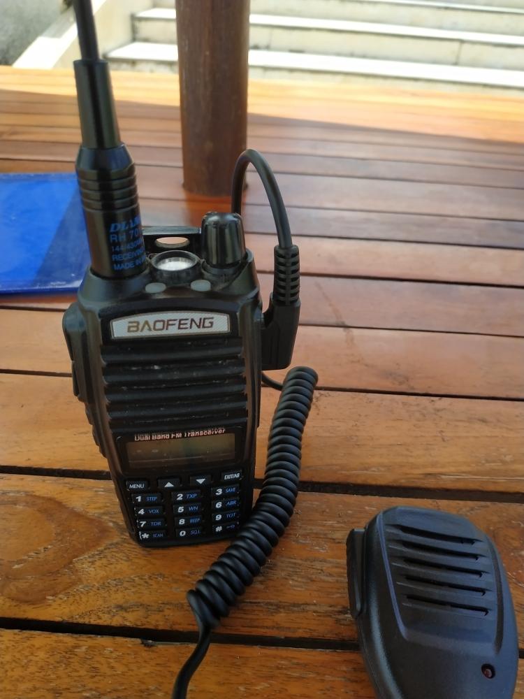 MAX COD - Taffware Speaker Microphone for Baofeng Walkie Talkie | Lazada Indonesia