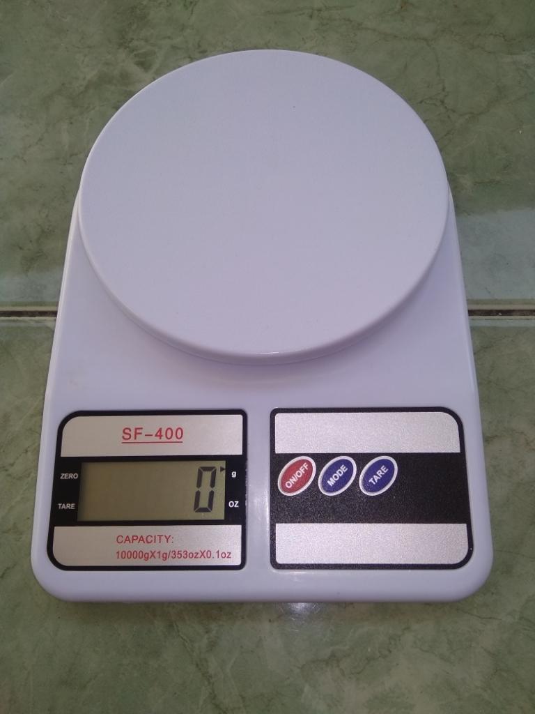 Angel Timbangan Digital Dapur 10 Kg Putih gratis battery   Lazada Indonesia