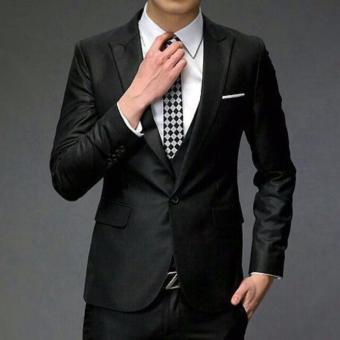 Kualitas Kapas Good Laki Laki Lereng Cocok Setelan Mode Jas Jaket Source Jas .